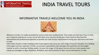Tips on How to Plan Tours to India