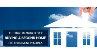 11 Things To Know Before Buying a Second Home for Investment in Kerala