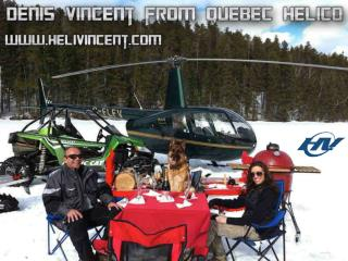Denis Vincent from Quebec Helico