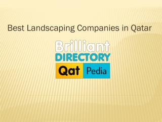 Find Best Landscaping Companies Qatar