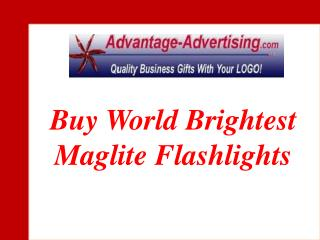 Buy World Brightest Maglite Flashlights