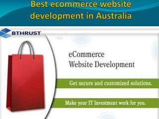 Best ecommerce website development in Australia