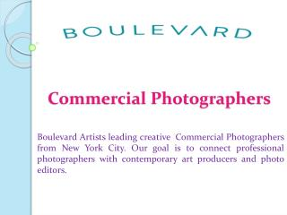 Commerical Photographers
