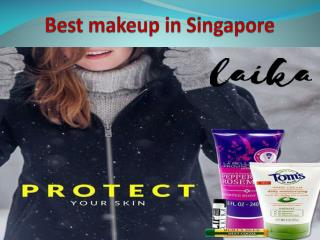 Best makeup in Singapore