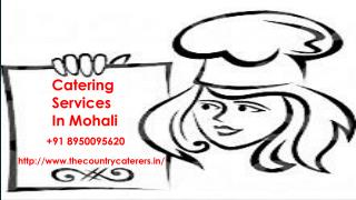 Catering Services in Mohali