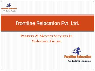 Frontline Relocation Packers And Movers