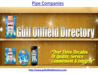 Which is the best pipe companies in UAE