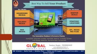Affordable Outdoor Ad Agency in Rajasthan - Global Advertisers