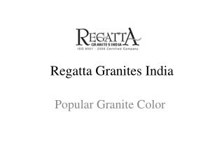 Popular Granite Colors