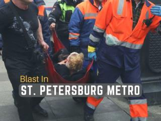 Blast in St. Petersburg metro