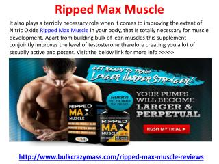 Ripped Max Muscle
