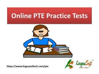 Online PTE Practice Tests