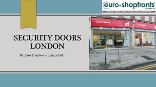 security doors London