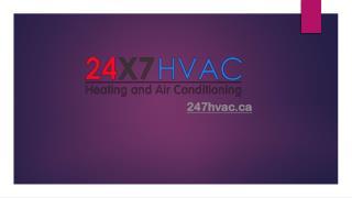 Air conditioning & Heating Repair Mississauga, Canada