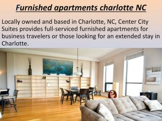 Furnished apartments charlotte NC