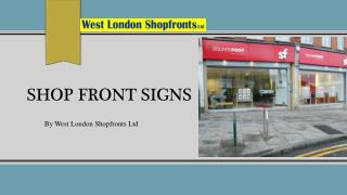 shop front signs