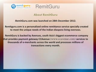 Remittance Redefined – Remit Guru