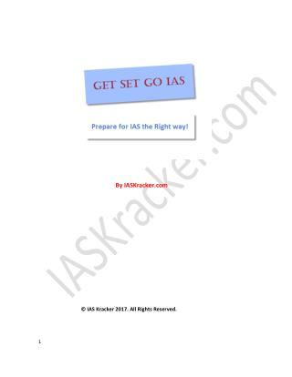E-Book for IAS Exam Preparation tips