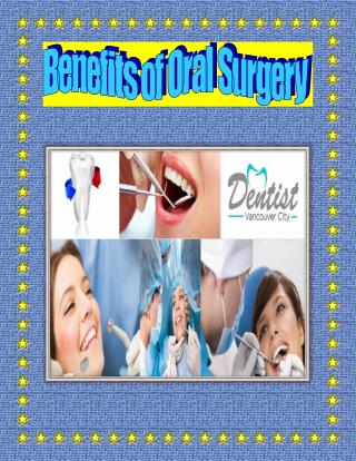 Benefits of Oral Surgery