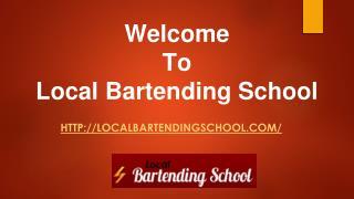 Job Placement   Bartending School