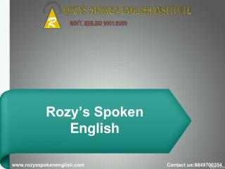 Spoken English institute in Secunderabad