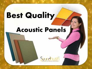 Best Quality Acoustic Panels