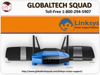 Linksys router support with Globaltech Squad