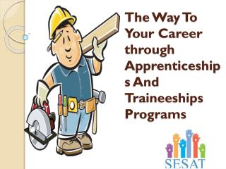Career Options In Apprenticeships-Smart Employment Solutions