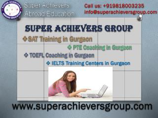 Superachievers Offers Best PTE Coaching in Gurgaon
