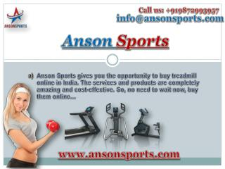 Buy Exercise Bikes in India Online with Anson Sports
