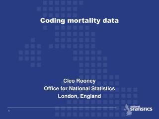 Coding mortality data
