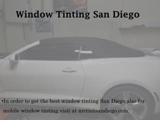 Window Tinting San Diego - arctintsandiego.com