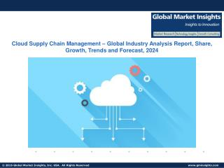 Cloud Supply Chain Management Market Analysis, Applications, and Segment Forecasts, 2024