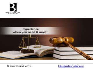 St. Louis Criminal Lawyer
