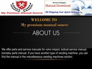 still parts manual