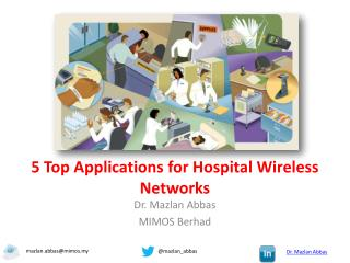 5 top applications for hospital wireless networks