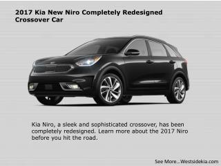 2017 Kia New Niro Completely Redesigned Crossover Car