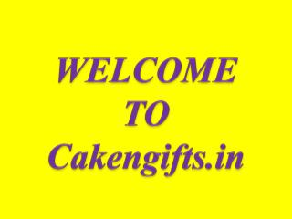 CakenGifts.in provides you the best way to online Midnight Cake Delivery