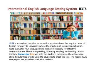IELTS Preparation, IELTS coaching