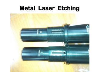 Metal Laser Etching