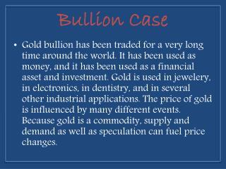 ebay Element Card Gold Bullion Case - Bullioncase.com