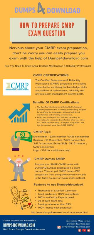 Study Material For SMRP CMRP Exam - Real Exams Question Answers
