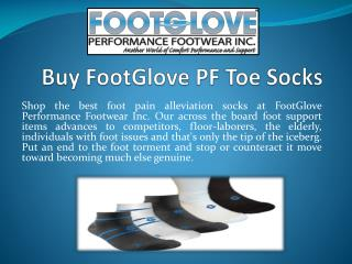 Buy FootGlove PF Toe Socks