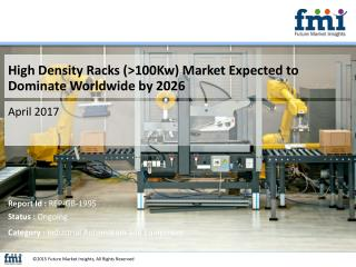 High Density Racks (>100Kw) Market Demand is Increasing Rapidly in Recent Years