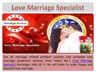 Love Marriage Specialist Astrologer