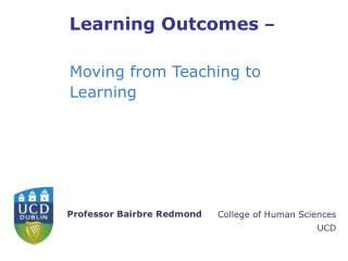 Learning Outcomes  –