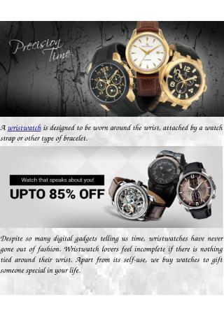 Be Ahead of Time, with Watches Online