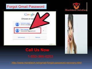 Have you Forgotten Gmail password  1-850-366-6203 of yours?