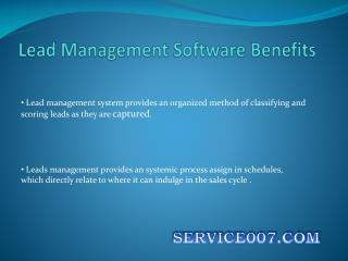 Lead Management Solution