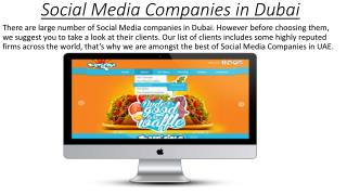 Social Media Companies in Dubai - logic-designs.ae